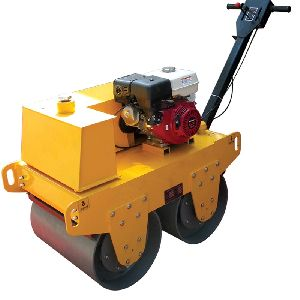 Double Drum Walk Behind Road Roller