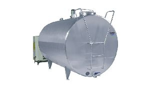 Cylindrical Milk Cooling Tank