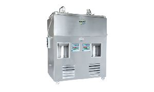 Double Head Stationary Type Milk Vending Machine