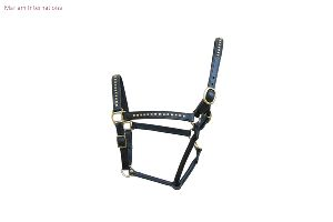 MI 504 Leather Horse Halter