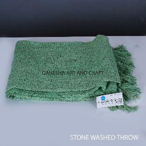 Green Throw Blankets