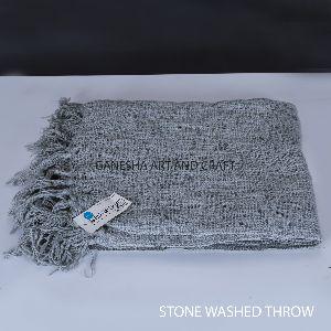 Dark Grey Throw Blankets
