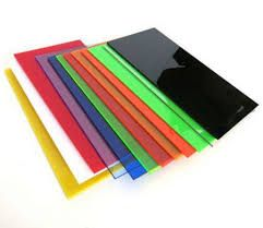 Colored Plastic Sheets