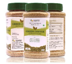 Green Coffee Beans Powder