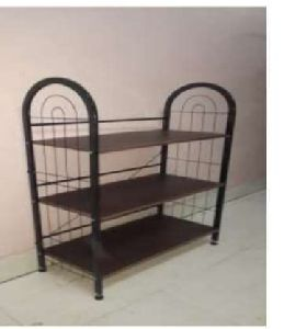 3 Shelf Wooden Shoe Rack
