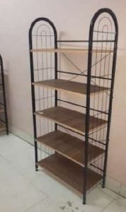 5 Shelf Wooden Shoe Rack