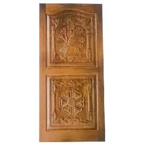 Decorative Wooden Carved Door