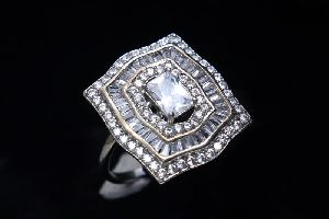 AD Solitaire Ring