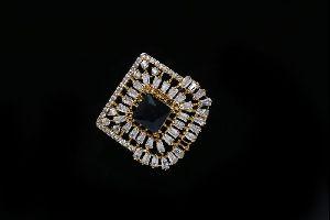 Black Stone AD Ring