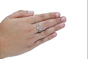 Designer Solitaire Ring