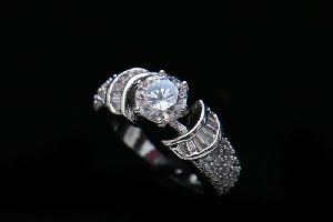 Fancy Solitaire Ring