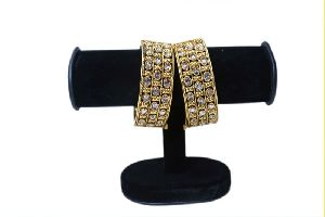 Multi Layered Two Piece Kundan Bangles Set