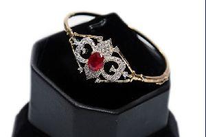 Ruby Stone AD Bracelet