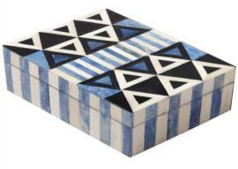 Bone Inlay Jewelry Boxes