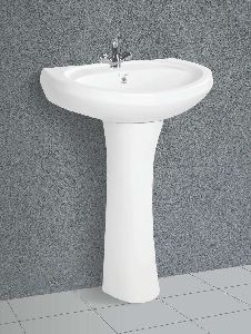 Repose Pedestal Wash Basin