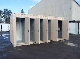 Bathroom Container Rental Services