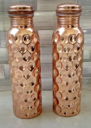 Copper Water Bottle 08
