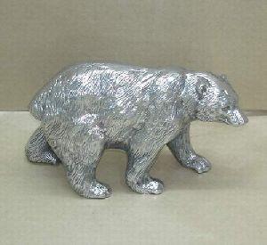 Aluminium Casted Bear Statues