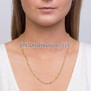 14K Gold Twisted Chain