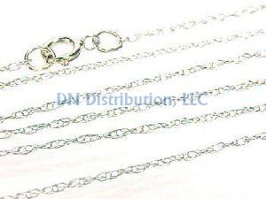 14KT White Gold Chain Necklace