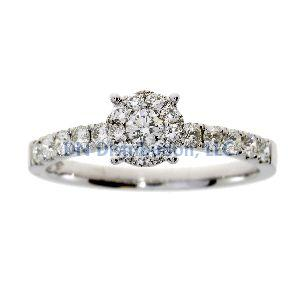.50 Ct Diamond & 18KT White Gold Ring