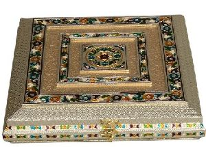 Antique Meenakari Sweet Box