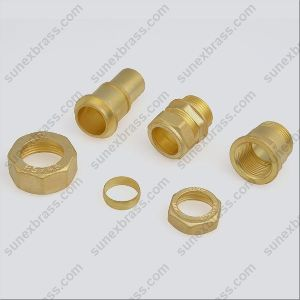 Brass Gas Meter Parts
