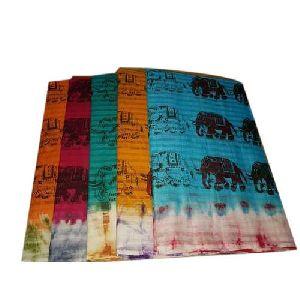 Elephant Print Sarees