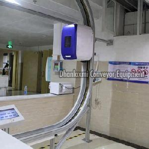 Electric Track Vehicle Conveyor System