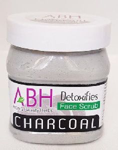 Charcoal Detoxifies Face Scrub