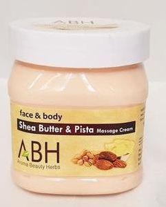 Shea Butter & Pista Massage Cream