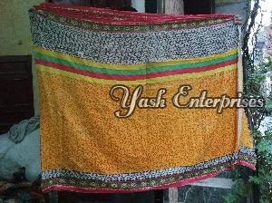 Multicolor Old Cotton Dhoti 02