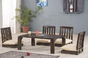 Floor Dining Table Set