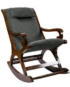 Cushion Back Rocking Chair