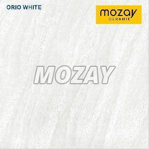Orio White Double Charged Vitrified Tile