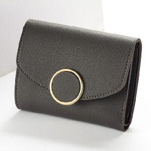 Ladies Black Leather Wallet