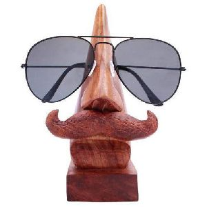 Wooden Goggles Stand