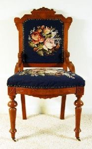 Wooden Victorian Chair