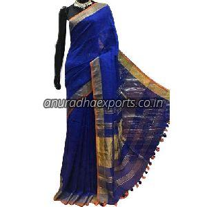 Traditional Linen Saree