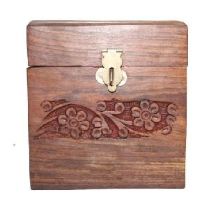 Wooden Coin Box