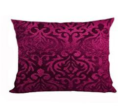 Floral Pattern Velvet Cushion Cover