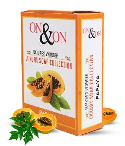 On & On Papaya Soap