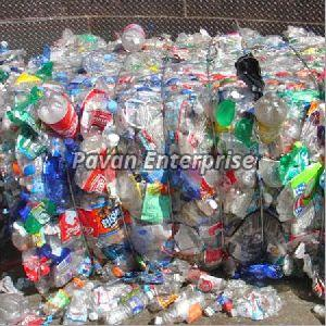 Washed Plastic Bottle Scrap