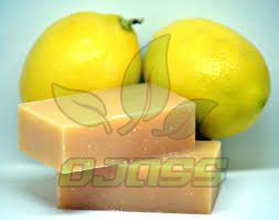 Lemon Toilet Soap