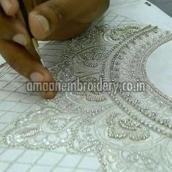 Zardozi Embroidery Work