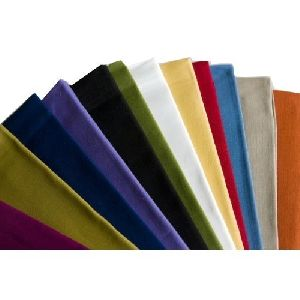 Plain Coloured Fabric