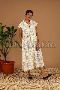 Colourful Striped Dress