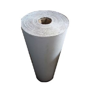 White Corrugated Roll