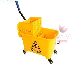 Yellow Wringer Trolley