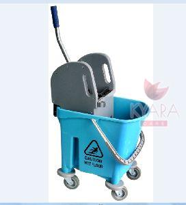 Single Bucket Wringer Trolley